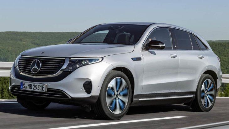 SUV de luxo da Mercedes - EQC