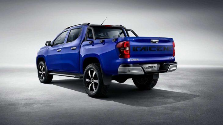Modelo chinês retrata o que poderá ser a nova picape da Peugeot.