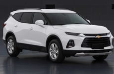 Novo SUV da Chevrolet Blazer XL é mostrado em imagens na China.