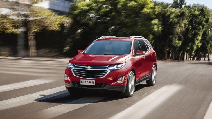 A General Motors anunciou que vai abaixar os preços das duas versões do Chevrolet Equinox.