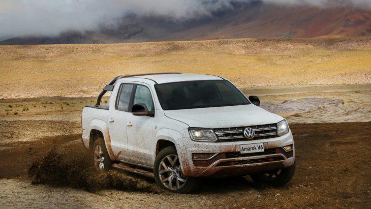 Nova Volkswagen Amarok tem estreia adiada para o ano que vem.