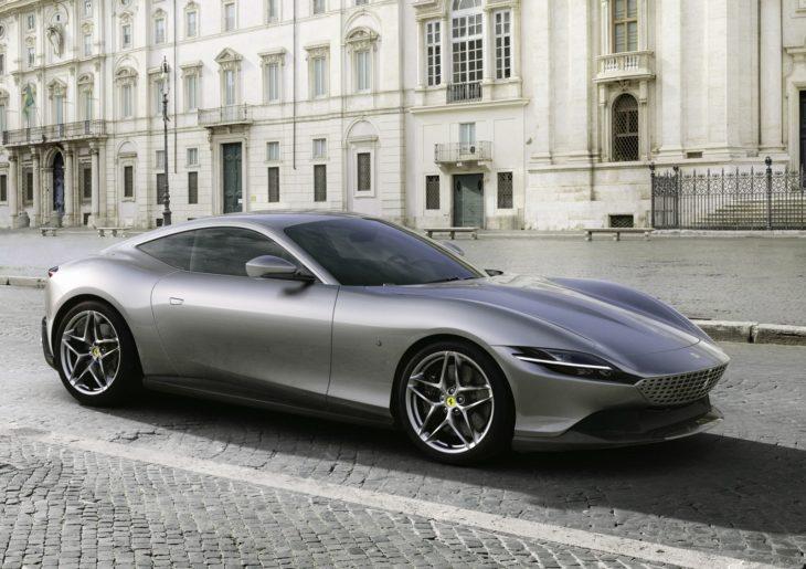 Novo lançamento da Ferrari faz homenagem a cidade de Roma,da Itália.