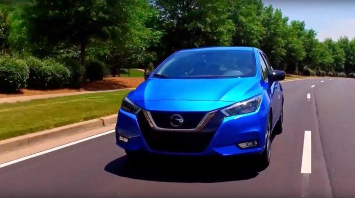 Conheça o V-Drive. novo sedan da Nissan.