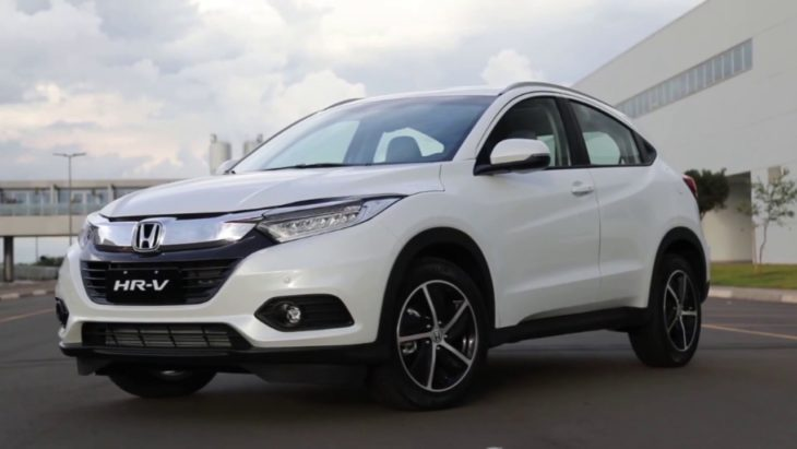Avaliamos o novo Honda HR-V Turbo.