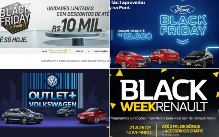 Aproveite os descontos da Black Friday para comprar seu carro novo.