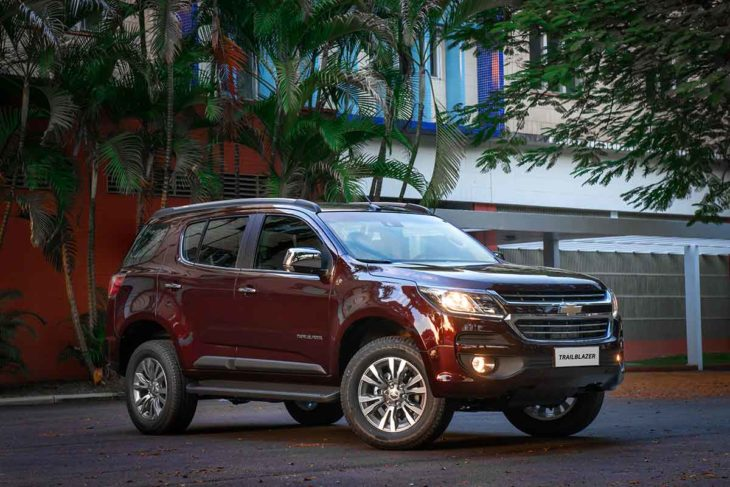 Chevrolet Trailblazer só será vendido na versão movida a diesel.