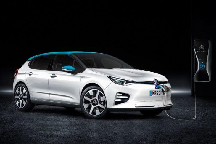 Uma nova versão do Citroen C4 elétrica deverá ser lançada em breve.