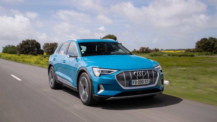 Audi inicia pré-venda do e-tron, carro 100% elétrico.