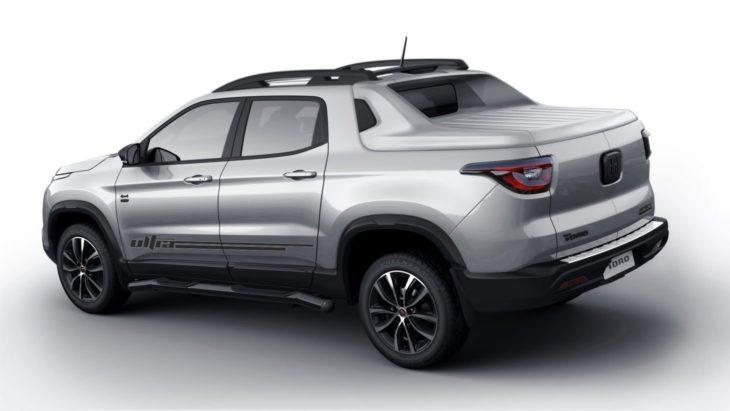 Versão mais avançada do Fiat Toro, chamada de Ultra, vem para o Brasil em dezembro.