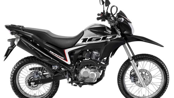 Novo modelo da moto Honda Bros começará a ser vendido no fim de novembro.