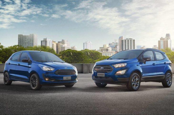 Ford Ka e EcoSport estão sendo oferecidos com descontos.