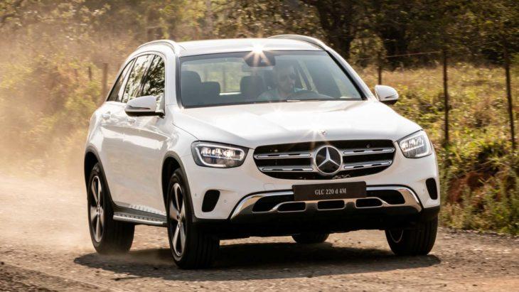 Novo Mercedes GLC 220 é um utilitário com boa gama de itens e ótimo motor.