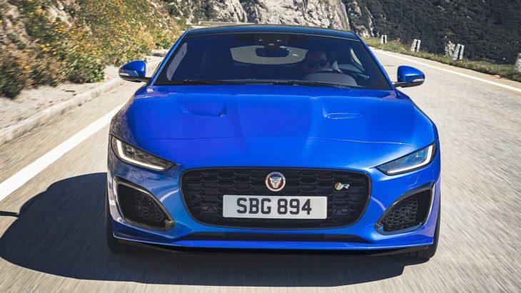 Novo modelo do Jaguar F-Type com alterações no visual e na motorização.