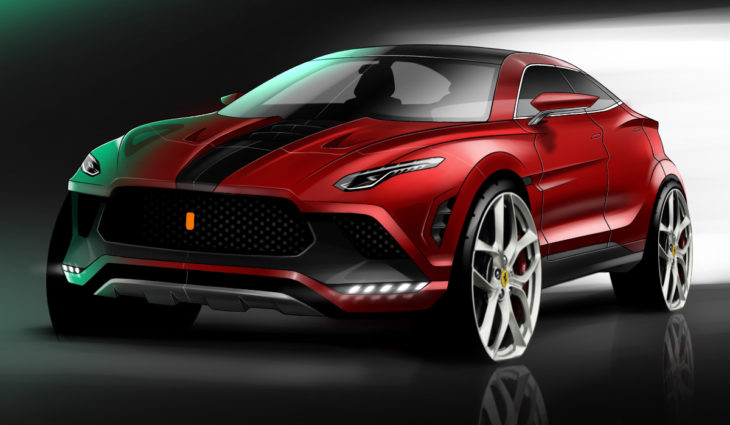 Ferrari lançará seu primeiro SUV, o Purosangue.