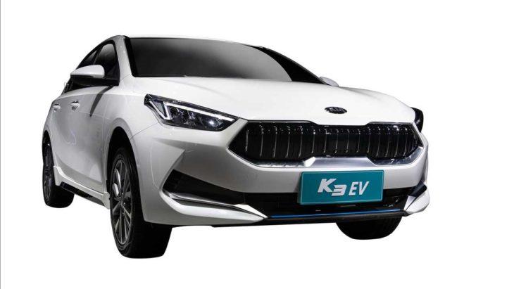 Versão do Kia Cerato 100% elétrica foi apresentada na China.