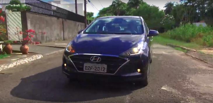 Novo Hyundai HB20S vem com muita tecnologia e segurança.