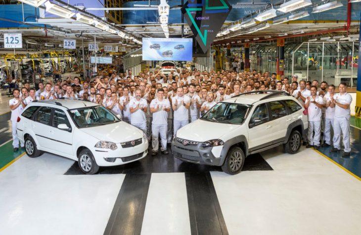 Fim da produção do Fiat Weekend.