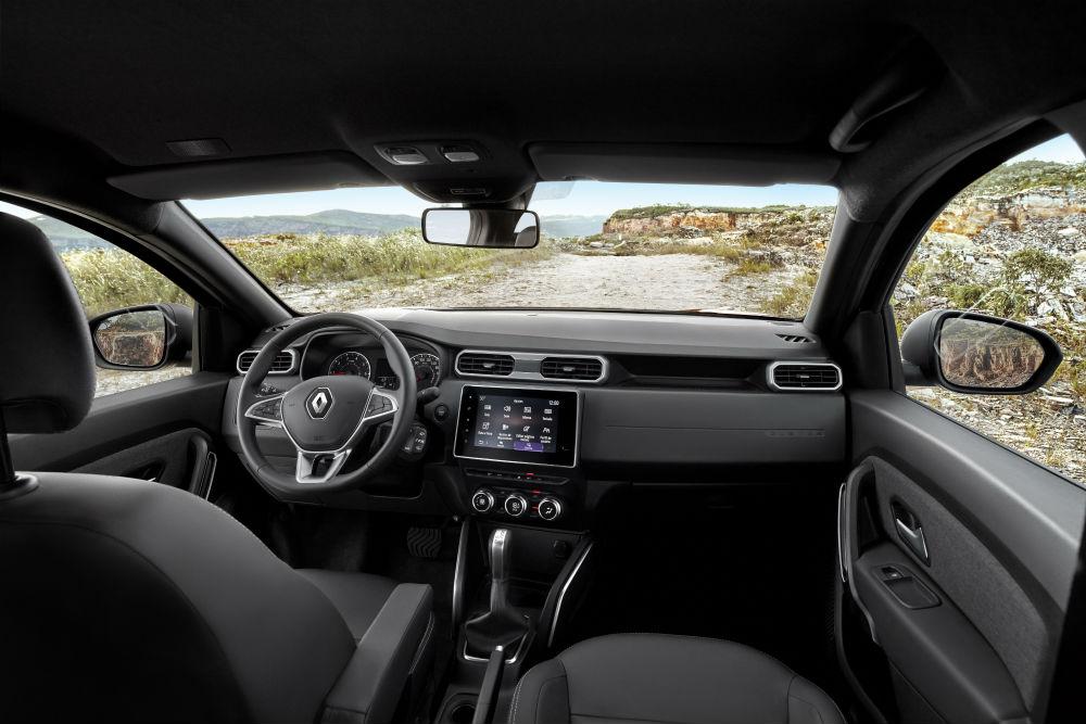 interior do Duster será bem parecido com o do novo Renault Captur