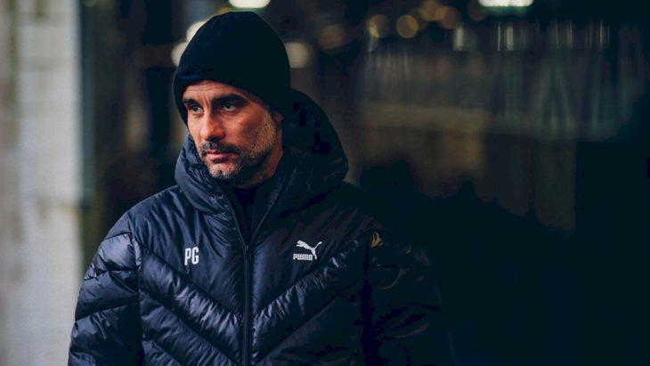 Pep Guardiola, técnico do City-ING