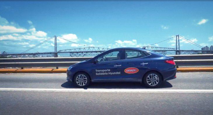Transporte solidário Hyundai