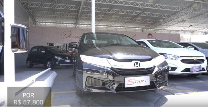 Honda City em oferta no Carro Arretado