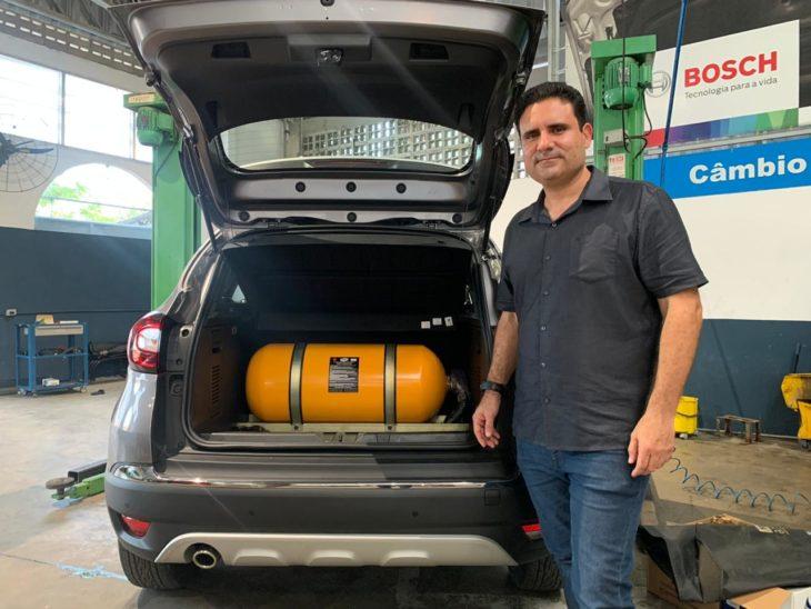 Eimar Moraes proprietário da Via Gás, especialista em GNV