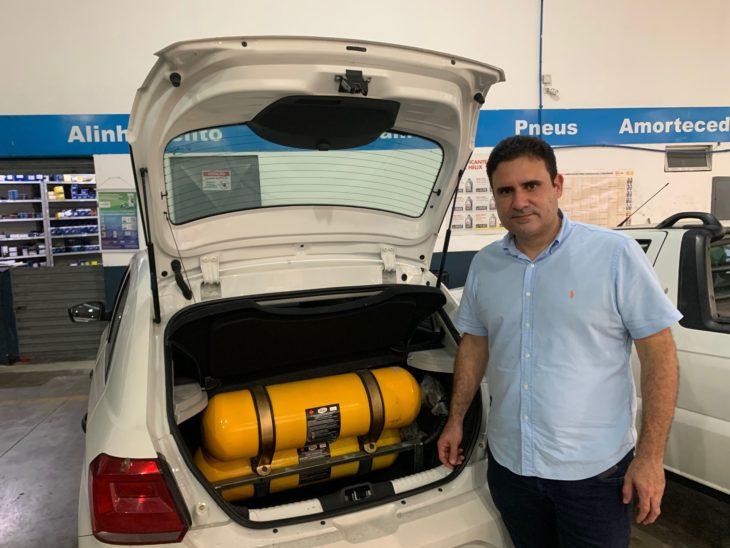 Eimar Moraes, proprietário da Via Gás