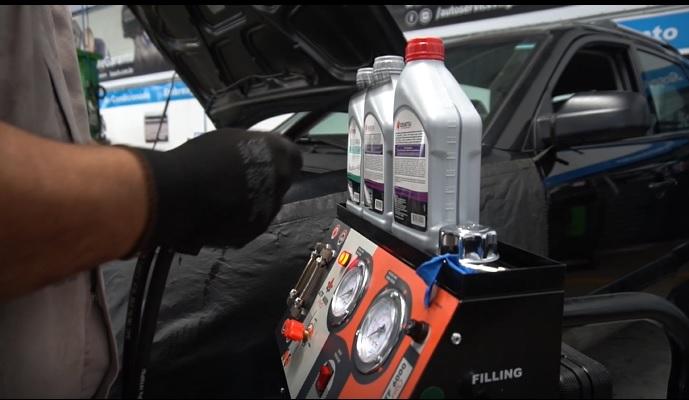 óleo do câmbio automático