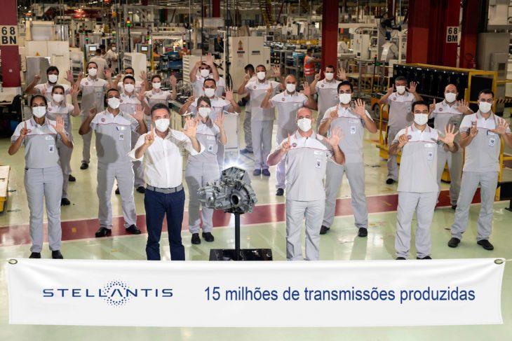 Fábrica da Fiat em Betim-MG