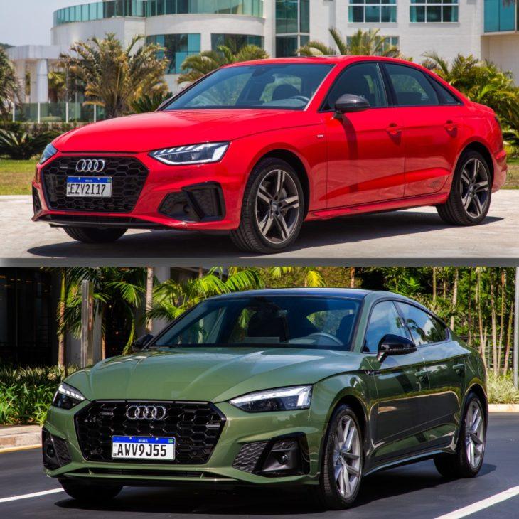 Audi A5 e A4