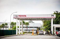 Fábrica de carros da Toyota