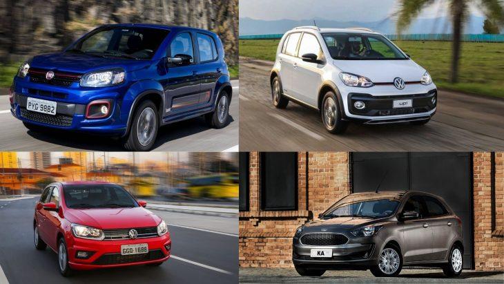 Etios, Uno, Up e Ka, alguns modelos vão sair de linha em 2021