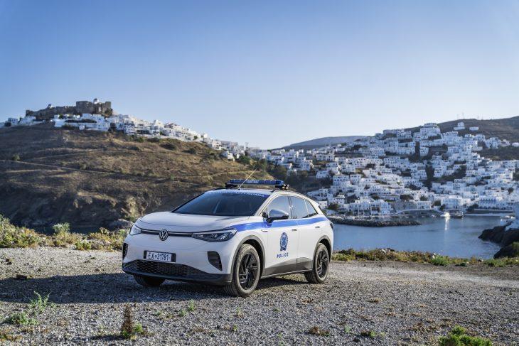 Veículo elétrico da Volkswagen ID4