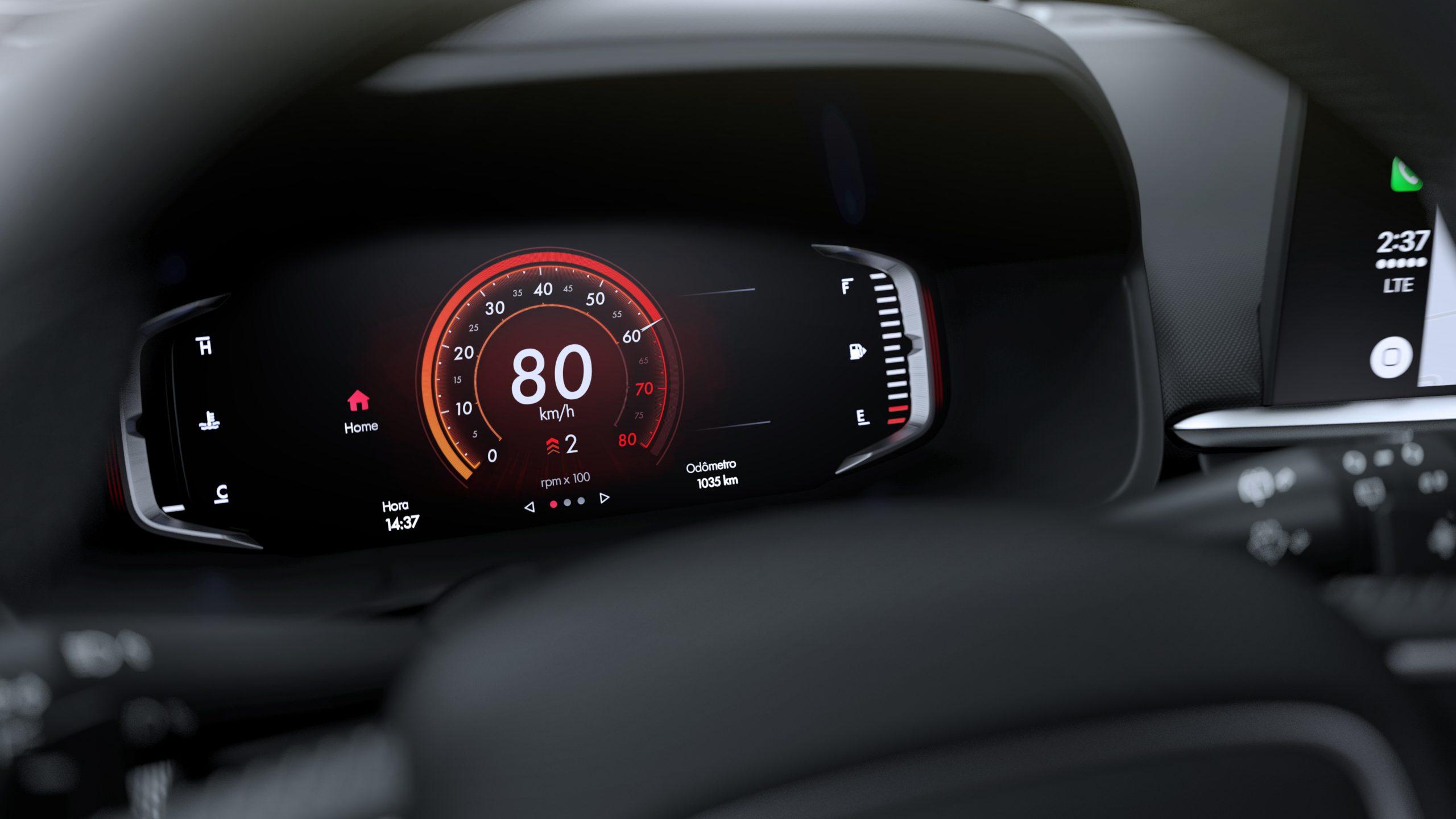 Fiat Pulse interior