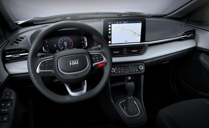interior do Fiat Pulse