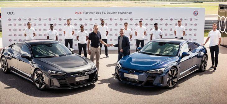 Bayern de Munique Audi e-tron gt