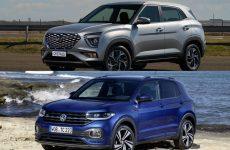 Hyundai Creta x VW T-Cross